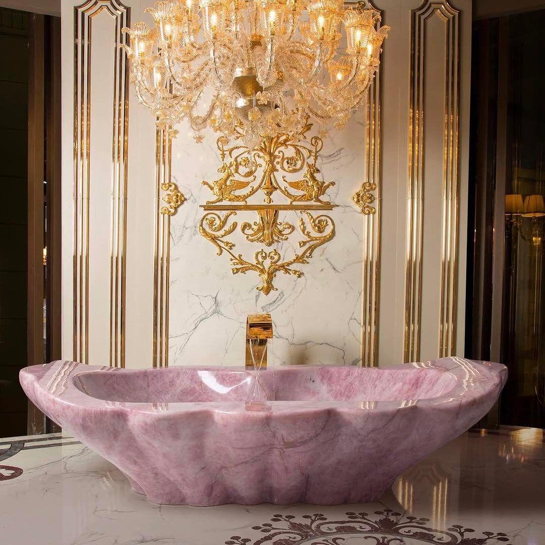 Andantegrazioso Rose Quartz Bathtub Minemagazineldn
