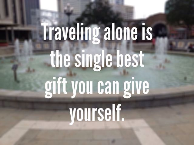 Travel Alone Quotes Travel Wanderlust …  Ride ✈  Pinterest  Wanderlust Soloing And .