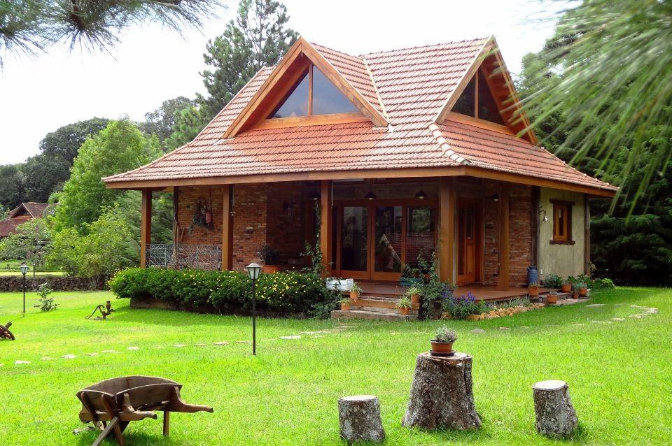 40 Modelos De Casas De Madeira Dicas Essenciais Projetos