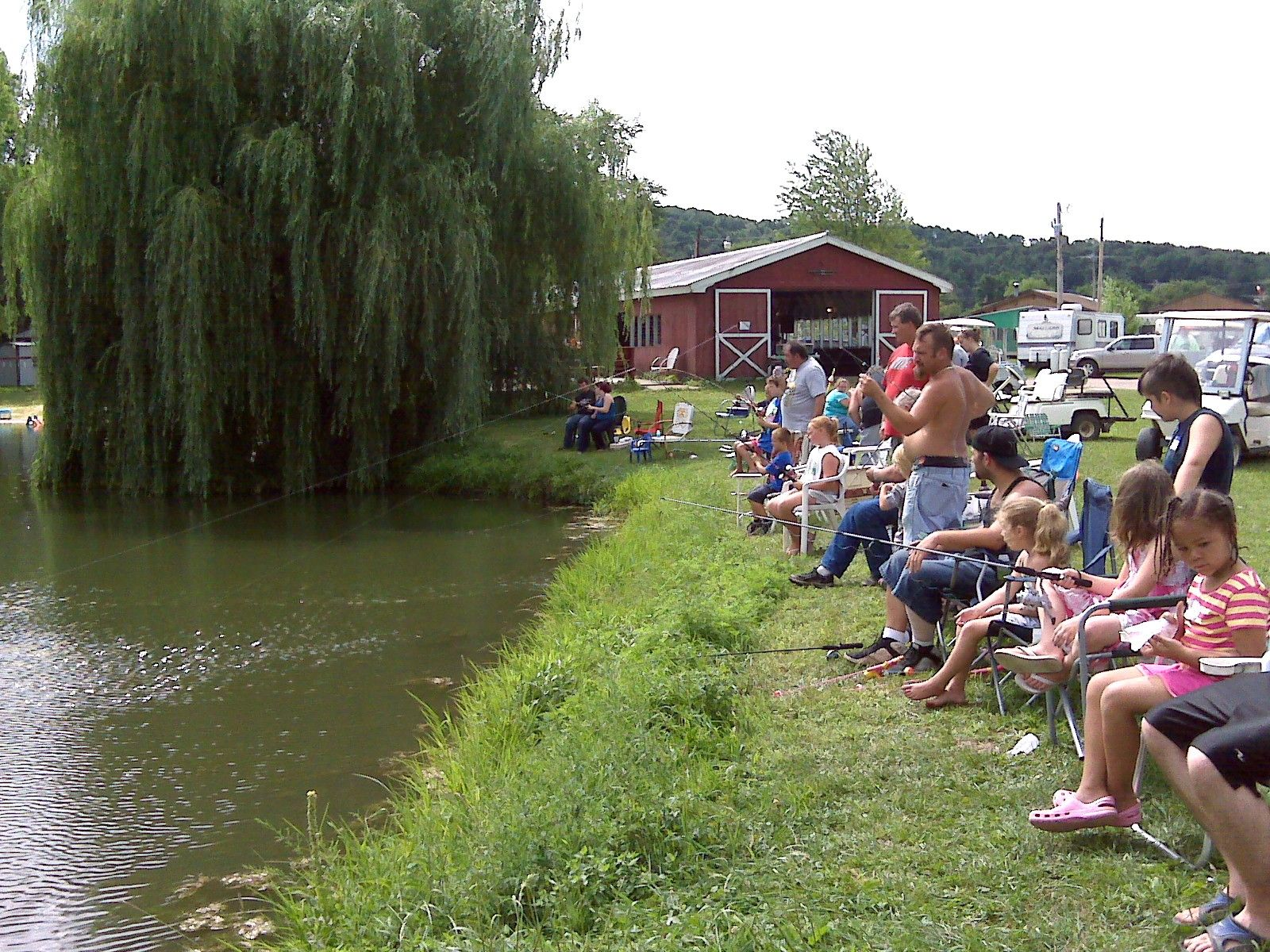 Kids fishing tournament double kd ranch and campground for Wisconsin fishing tournaments