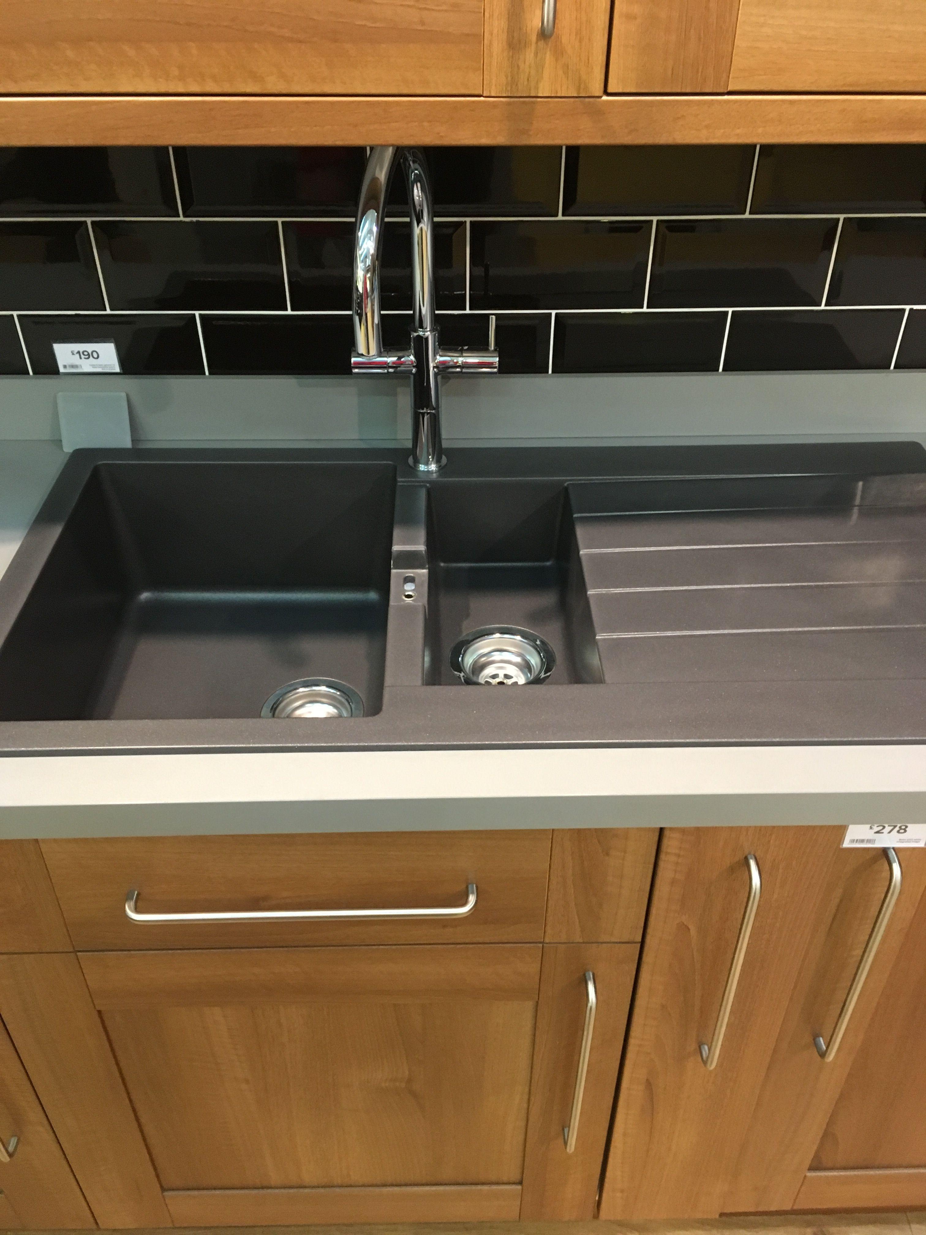 Composite quartz sink B&Q B&q kitchens, Top paint