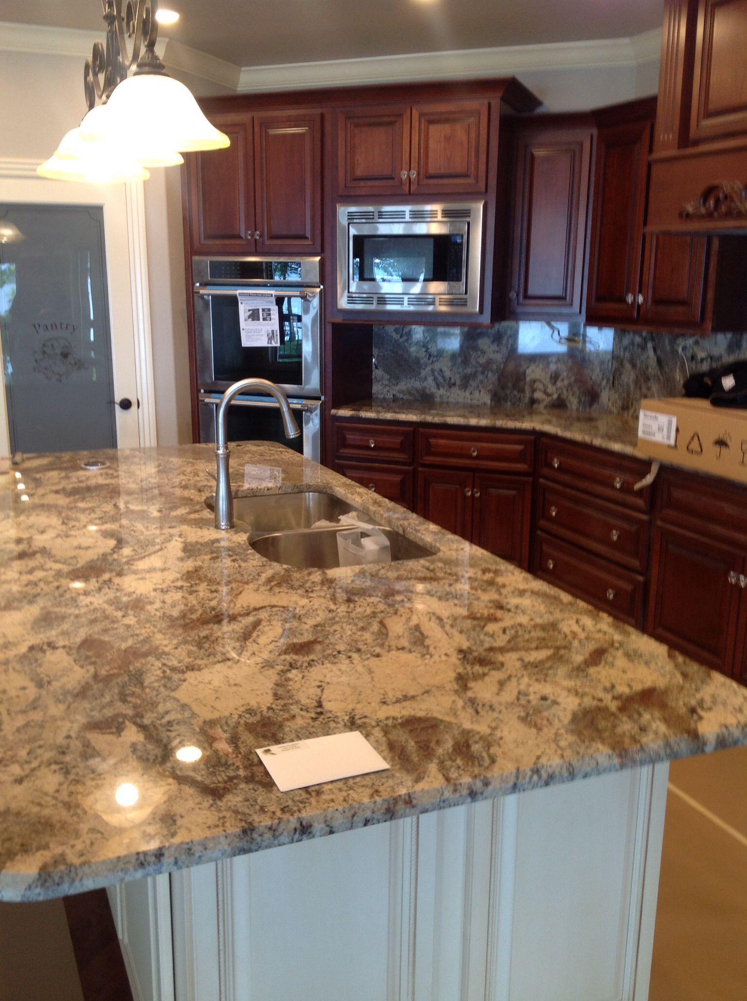River Bordeaux Granite Island New Home Kitchen Decor