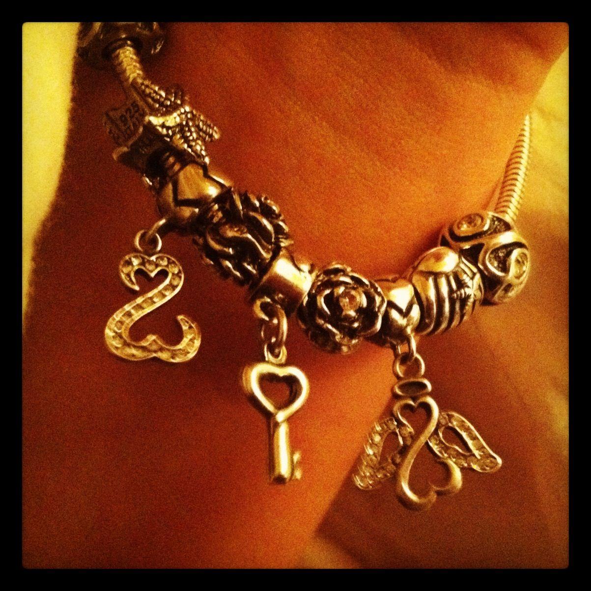 Charmed Memories By Kay Jewelers Pandora Style Bracelet Charmed
