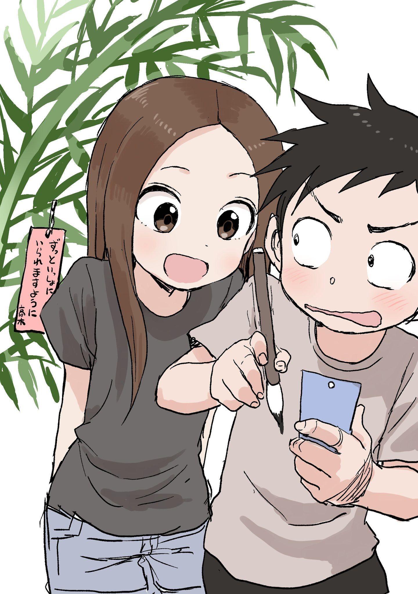 Pin by Hal theShaman on Takagi Takagi, Anime characters