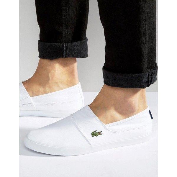 Lacoste Marice Slip On Plimsolls ($58