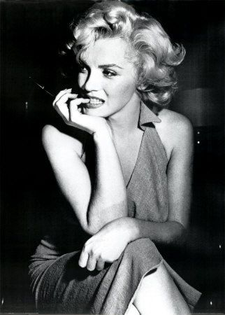 Marilyn Monroe - I have this photo on my bedside table, she is my idol
