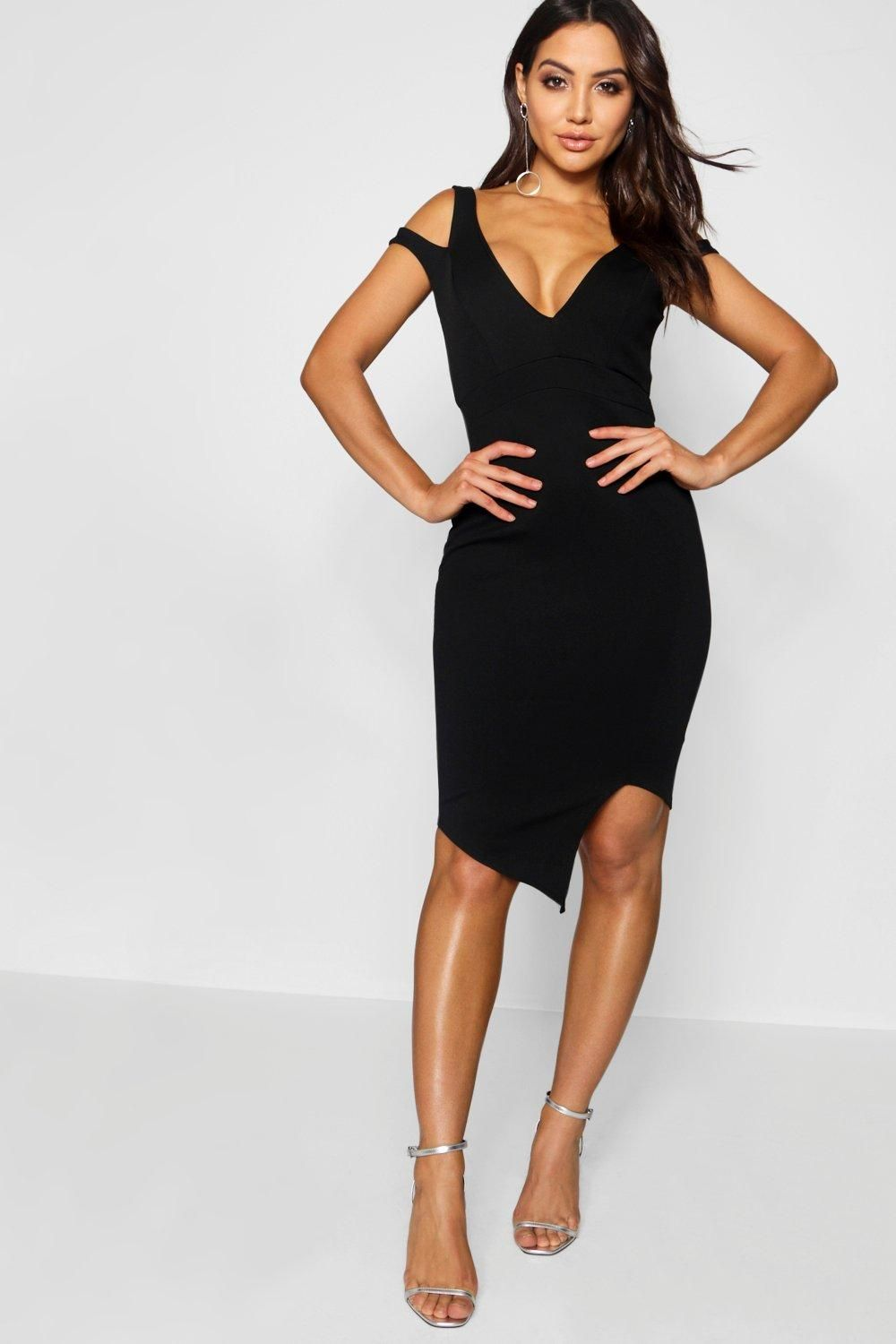 eb7bb7a5b4 Click here to find out about the Cut Out Asymmetric Bodycon Dress from  Boohoo, part of our latest Dresses collection ready to shop online today!