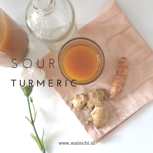 Mainichi — Sour Turmeric Indonesian Traditional Drink