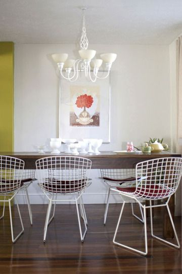 Single Framed Print In Dining Room Not Crazy About Those Chairs Apartment Therapy
