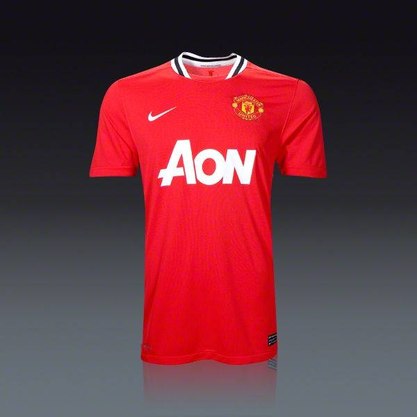 nike manchester united home jersey. go manchester united