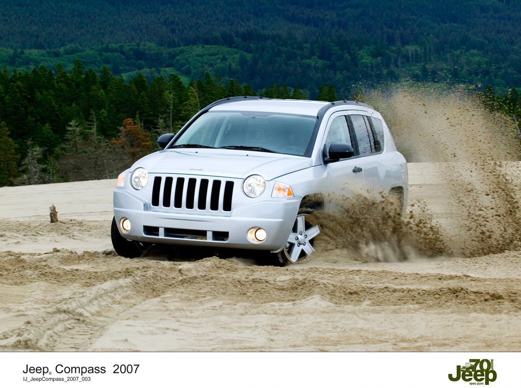 Jeep Compass (2007) Historia Pinterest Jeep compass