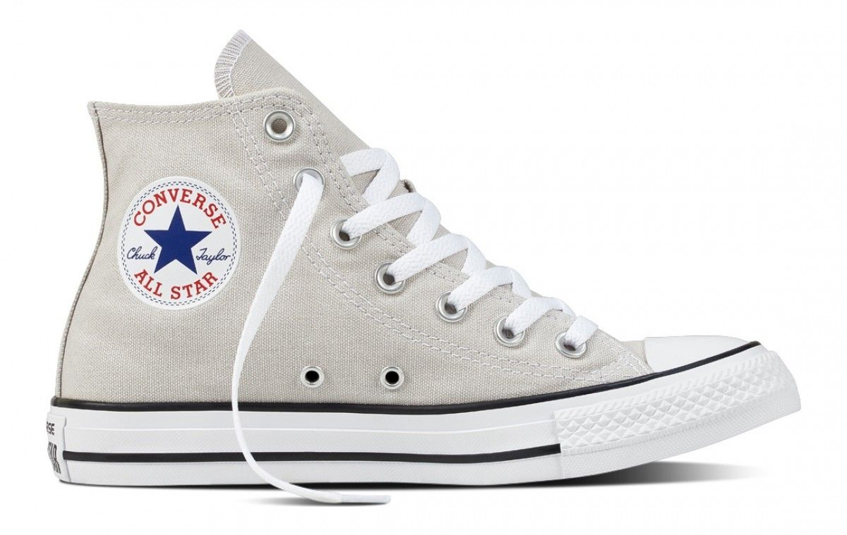 Converse Chuck Taylor AS fresh colors Hi Scarpe High Top Sneaker Grigio chiaro