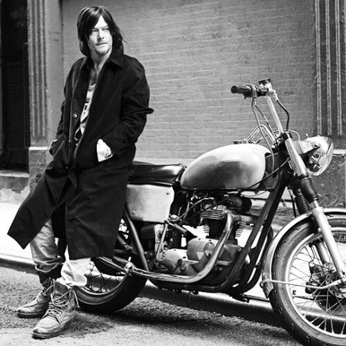 Norman Reedus shot in Tribeca, NYC for Vogue Italia