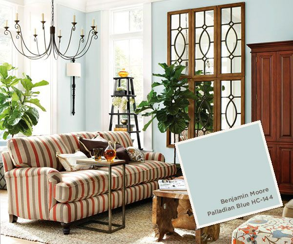 August september 2013 paint colors paint trends - Benjamin moore palladian blue living room ...