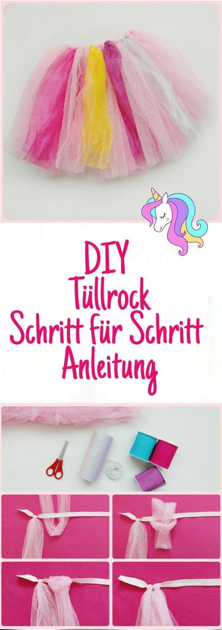 Photo of Einhorn Kostüm für Kinder selber machen – Teil 2 – DIY Einhorn Rock – ohne nähen – kleinliebchen