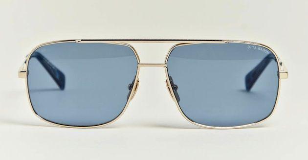 4b64eccdd2 Dita Baron Optical Twelve Carat Gold Frame Men s Sunglasses ...