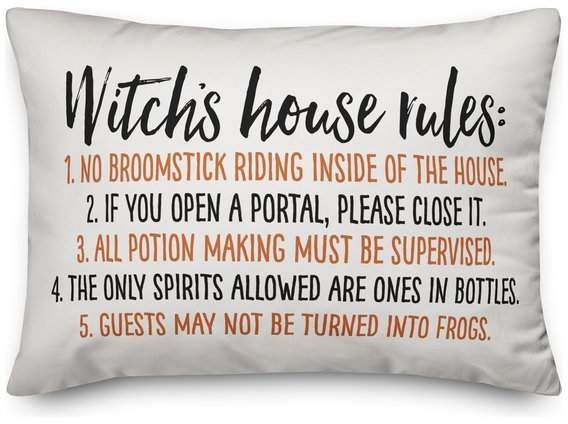Designs Direct Creative Group Witch House Rules 14 / #blackwitchhouse #bohemianw...