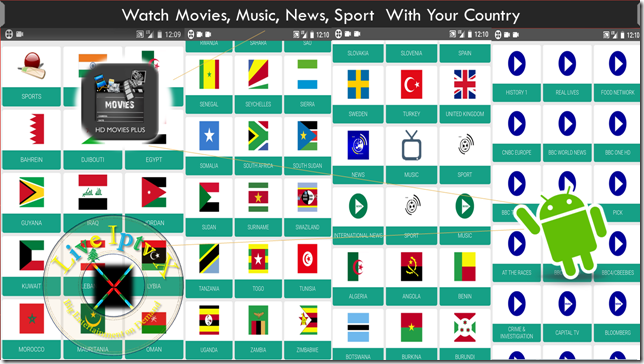 Watch TV Stream Online HD Movies Plus APK For Android