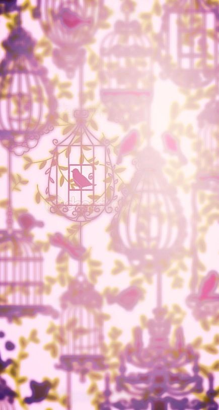 Android iphone wallpaper background birdy in cage