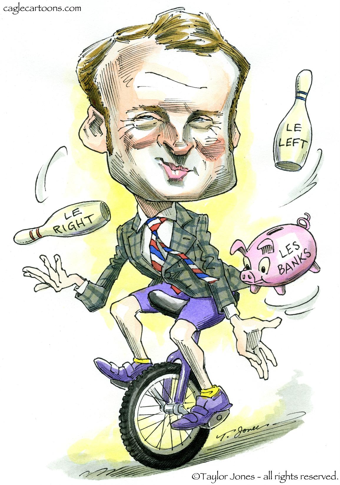 Resultado de imagen para Caricaturas de Emmanuel Macron