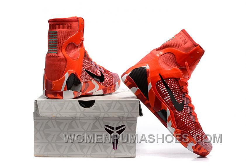 http://www.womenpumashoes.com/nike-kobe-9-high-woven-christmas-red ...