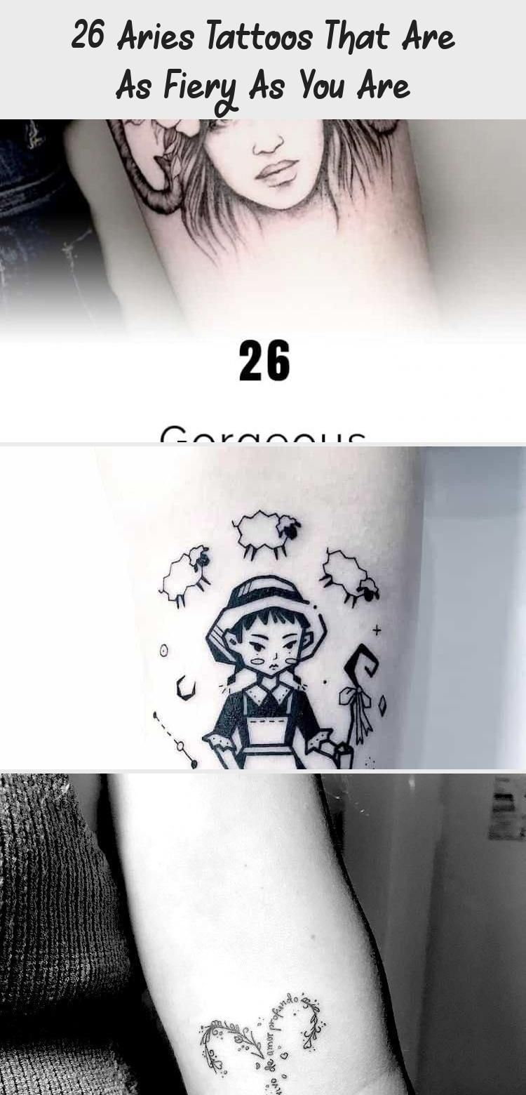 26 Aries Tattoos That Are As Fiery As You Are Yasmin's