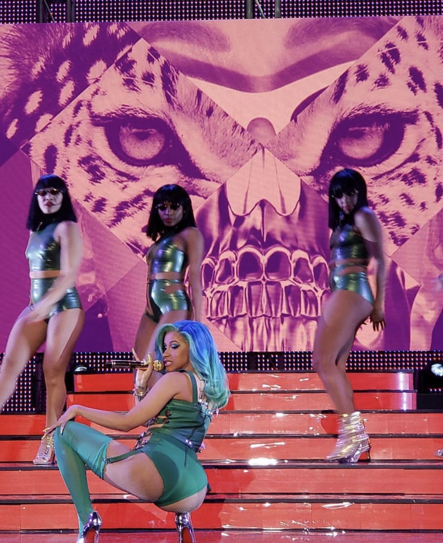 Model Sues Rapper Cardi B Over Naughty Album Cover: Cardi B Pics, Cardi B Photos, Cardi B
