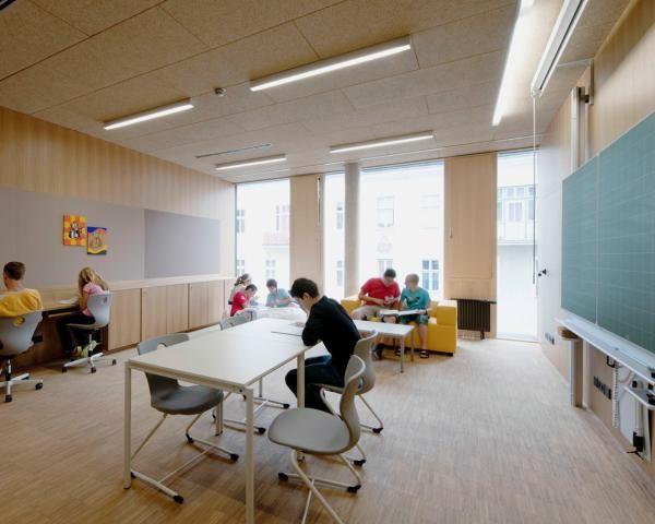 Project: Schulzentrum Krems - NMPB Architekten ZT GmbH Wien