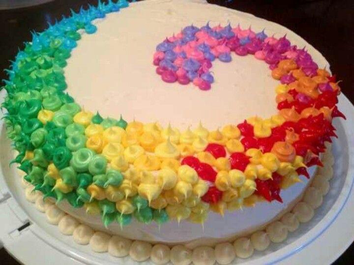 Cake frosting let them eat cake no bake cake rainbow food