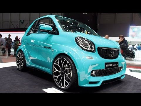 2017 Smart Fortwo Brabus Ultimate 125 Exterior And Interior