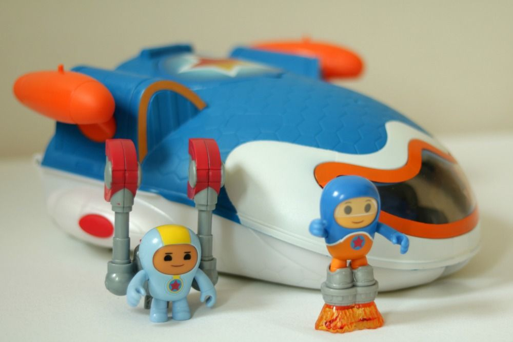 Fisher Price Go Jetters Jet Pad Playset