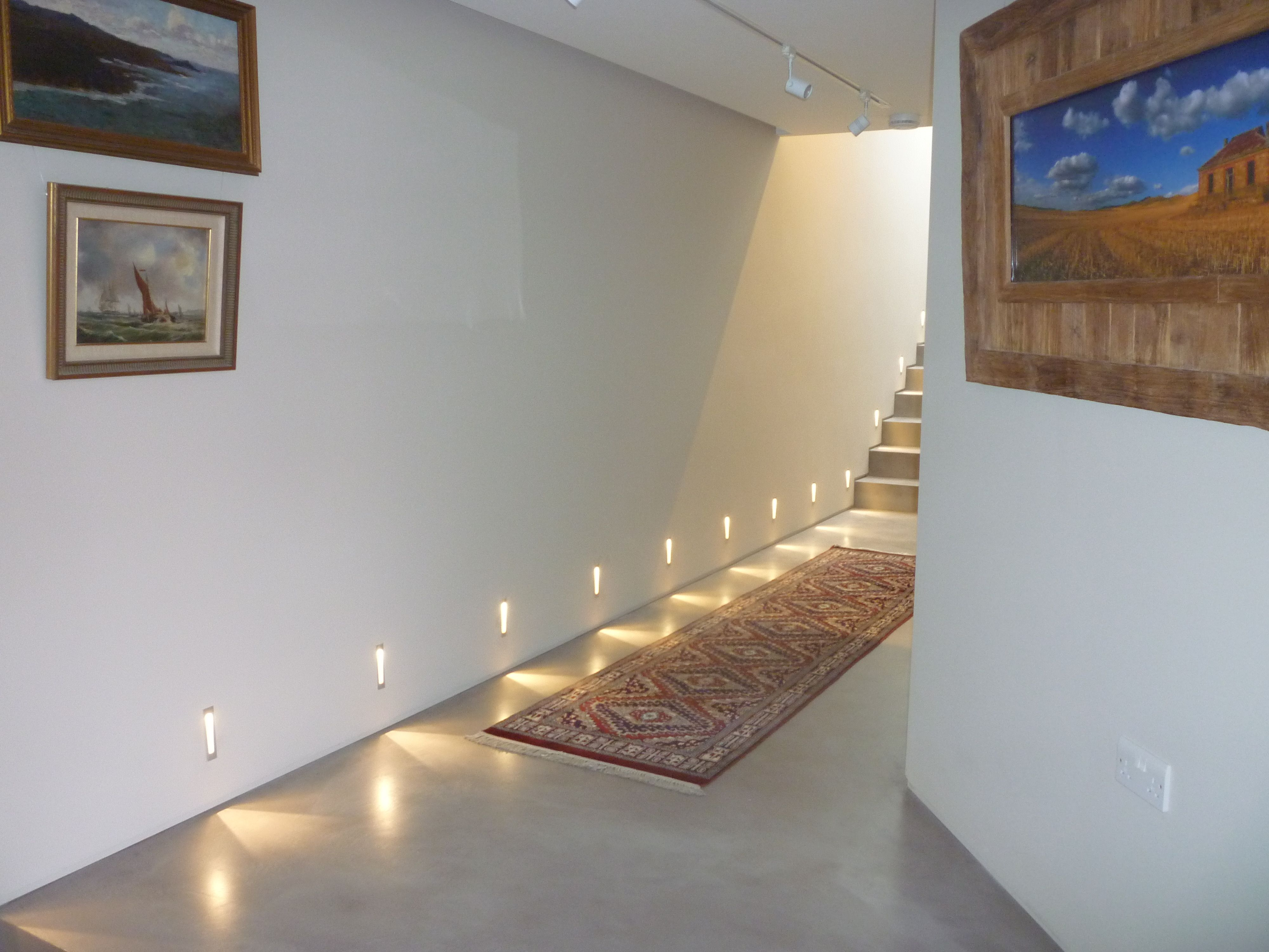 Great Use Of Low Level Lighting With Our Solacir Microscreed