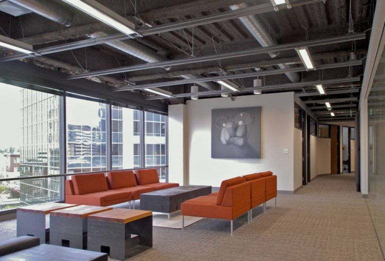 Open Ceiling Lighting Design Ideas For Commercial Applications Lbc Lighting Industrial Home Offices Open Ceiling Ceiling Design
