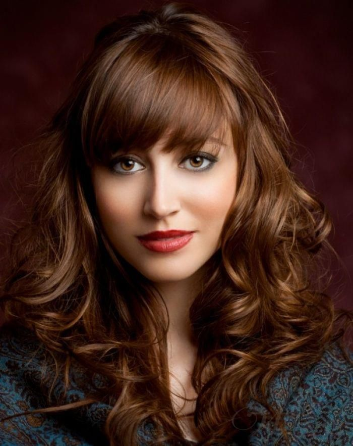 Amazing Attractive Fabulous Long Brown Curly Hair Styles For Women