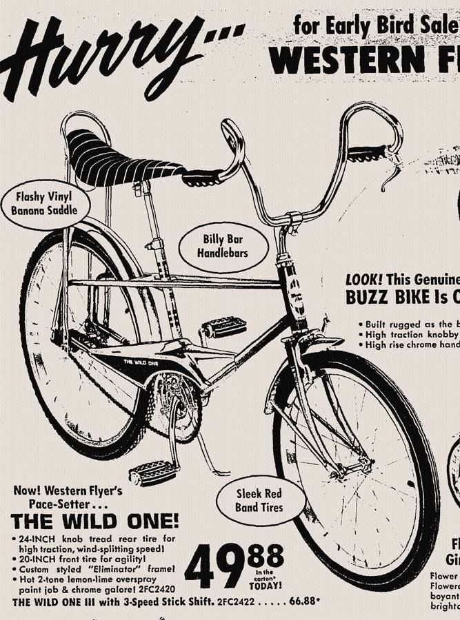 "Bicycle 20/"" Banana Saddle Vinyl Cruiser Chopper Iowrider SCHWINN STYLE Red"