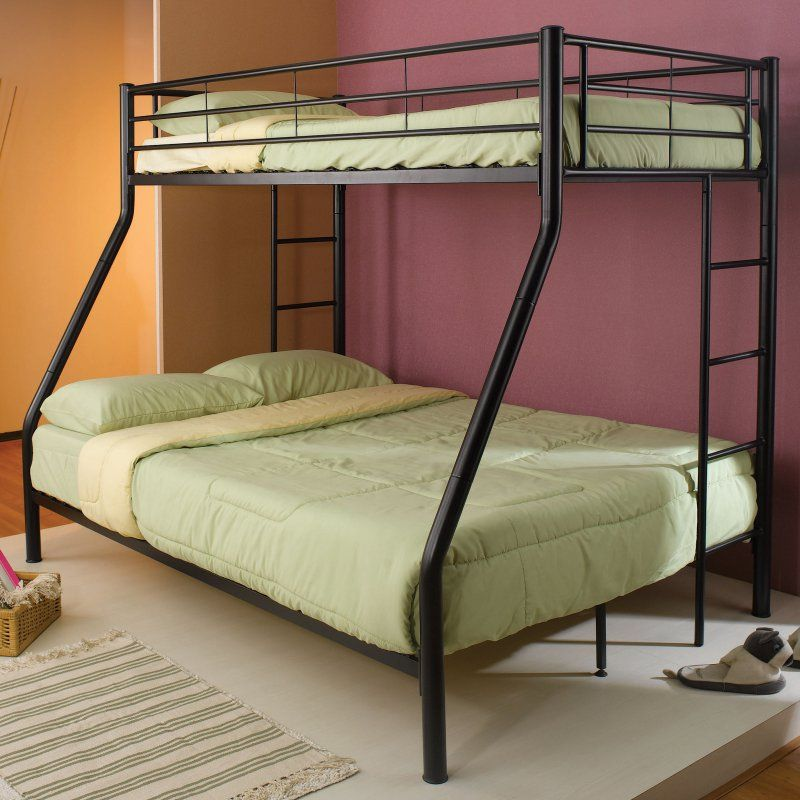 Coaster Furniture Denley Metal Twin over Full Bunk Bed - 460062B