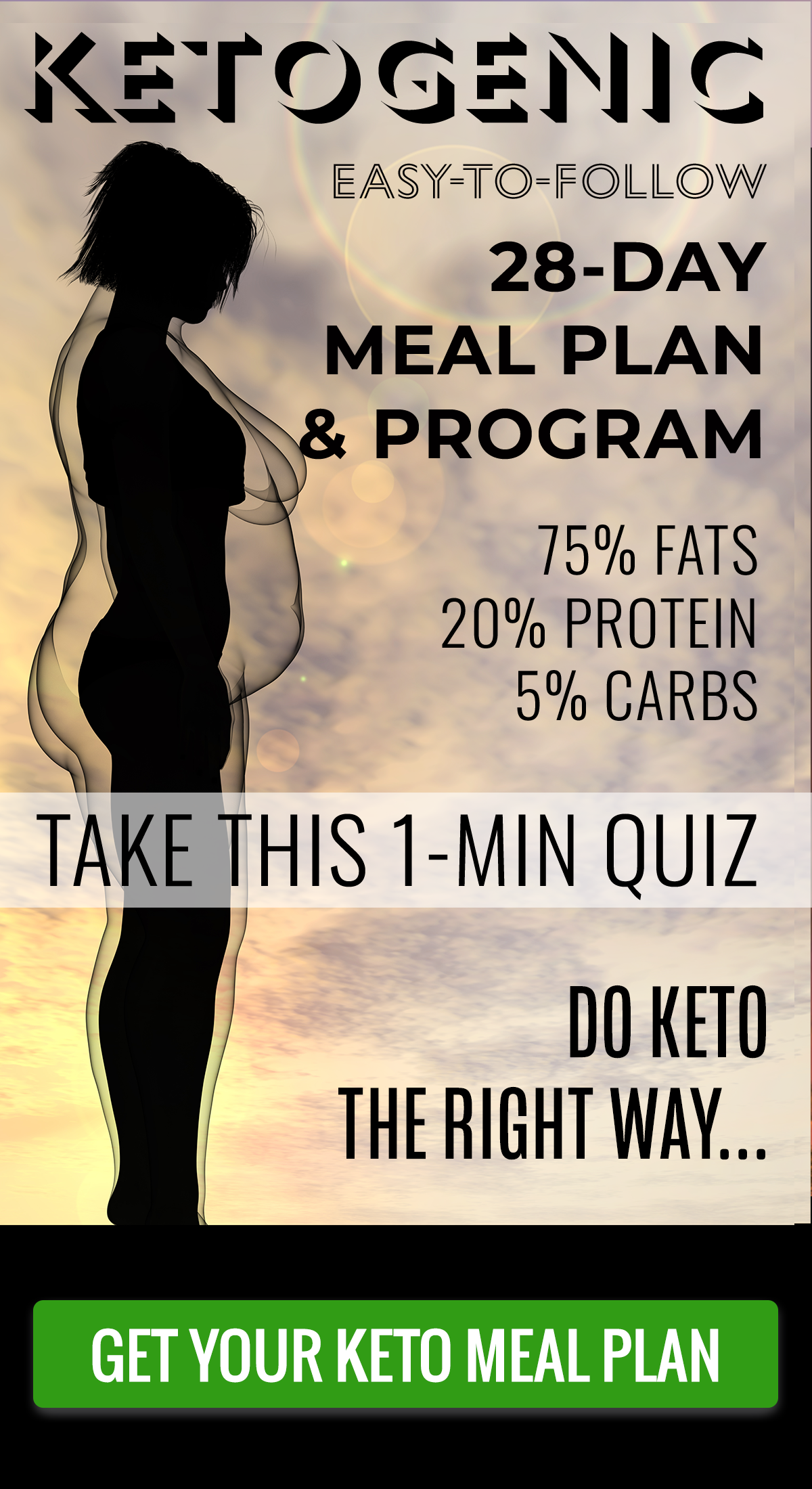 28-day personalized keto diet plan
