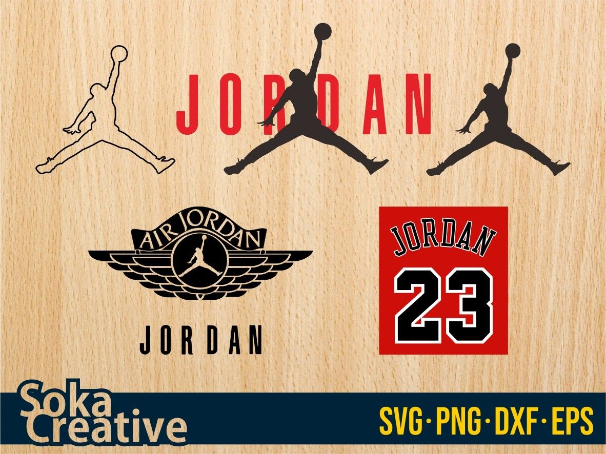Air Jordan SVG Bundle Vectorency in 2020 Air jordans