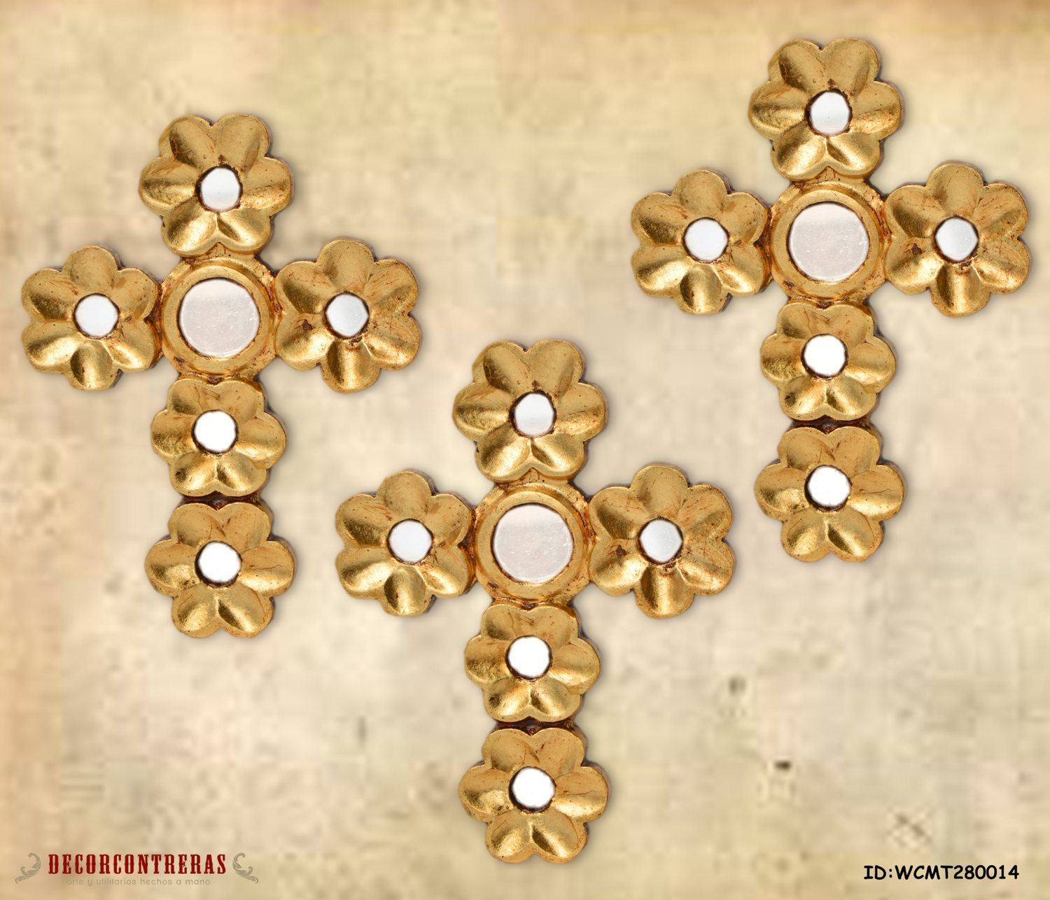 Decorative Wall cross Set 3, \