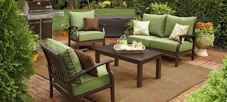 Diy Outdoor Patio Furniture And Decor To Start Summer With Fresh Garden Look Sets Lime Green