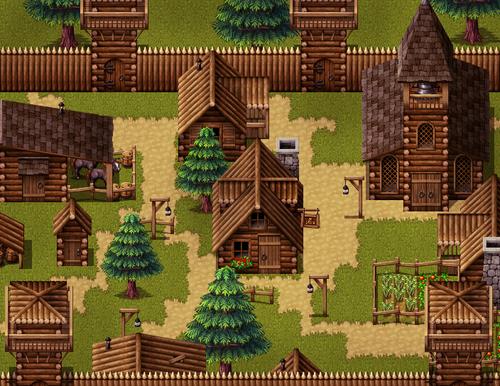 Fantastic Buildings Medieval Rpg Maker Make Your Own Game Arte Em Pixels 8bit Art Pixel Art