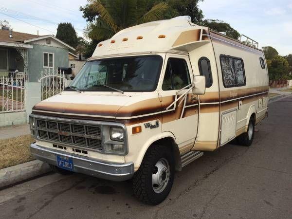 82 Gmc Vandura Motor Home 1 Hawaiian Gardens Rv S R Us