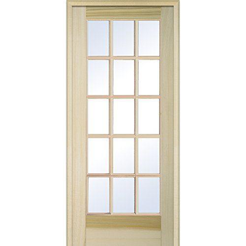interior glass door 30 x 80 glass door ideas on Pinecroft 30 In X 80 In Optique Clear Lite id=63873