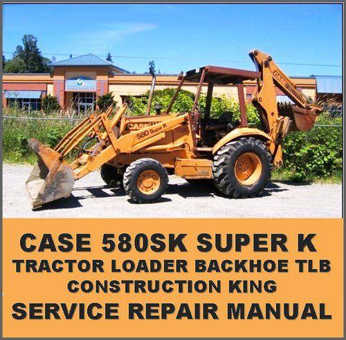 case 580 super k 580sk loader backhoe operators manual case rh pinterest com case 580c manual pdf case 580c shop manual