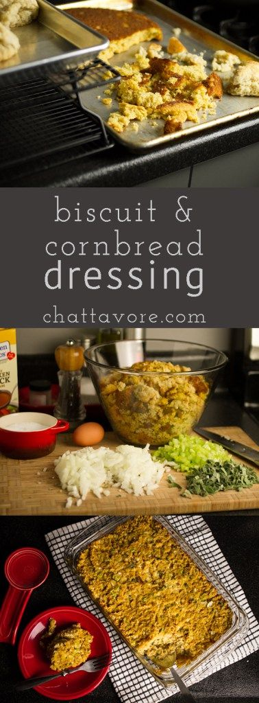 Southern Dressing with Biscuits and Cornbread - Chattavore
