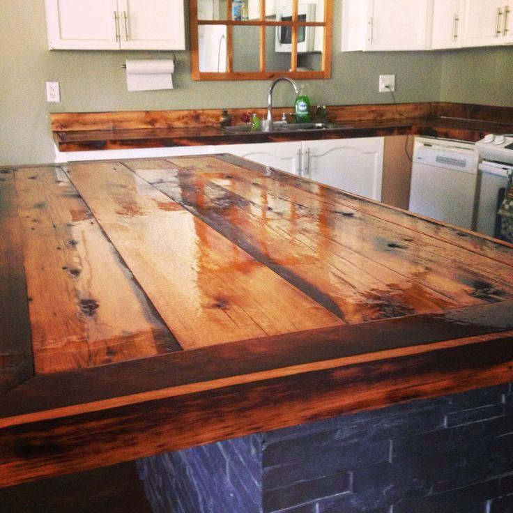 Image result for pallet kitchen worktop in 2019   Diy wood ...