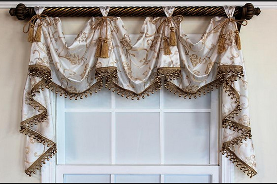 Name for this type of curtain /valance (With images ...