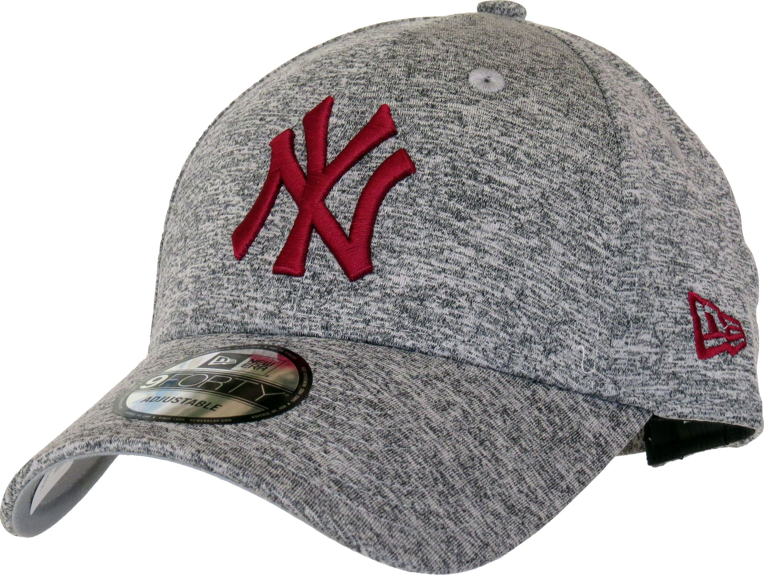 e72c27aa New Era 9Forty New York Yankees Tech Jersey Adjustable Baseball Cap. Jersey  Grey with the