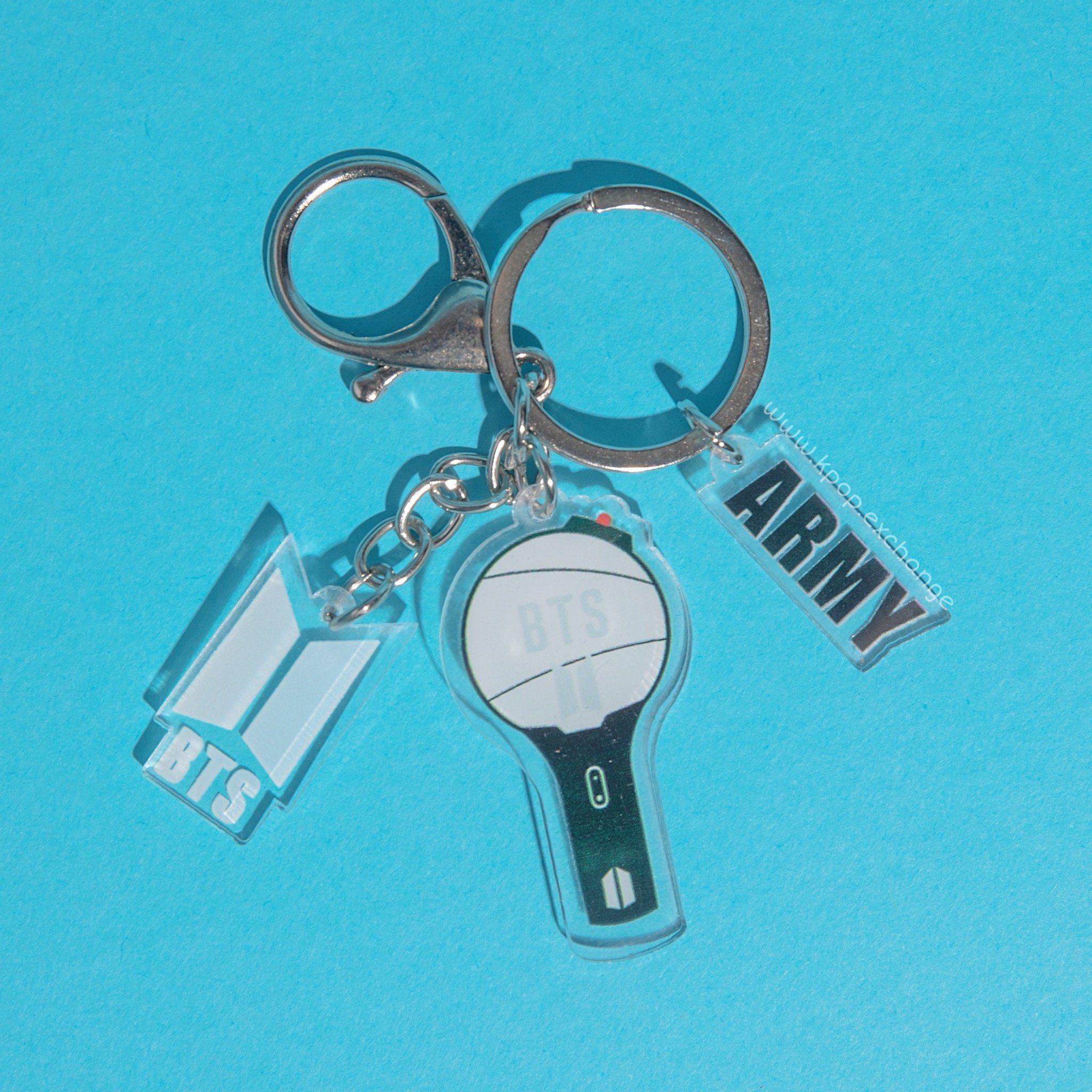BTS ARMY Logo Keychain