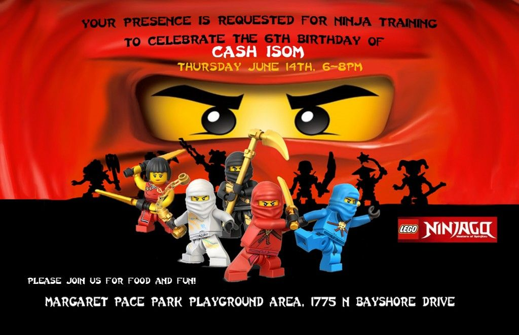 Ninjago Birthday Party Free Ninjago Party Printables Featured